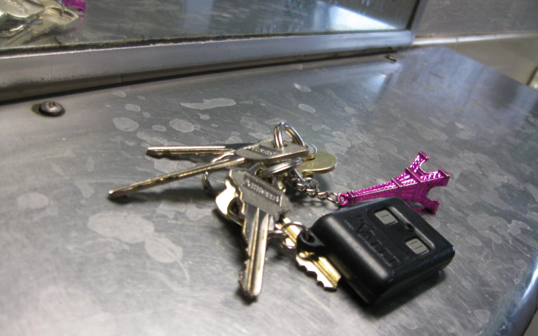 what to do if you lose your keys